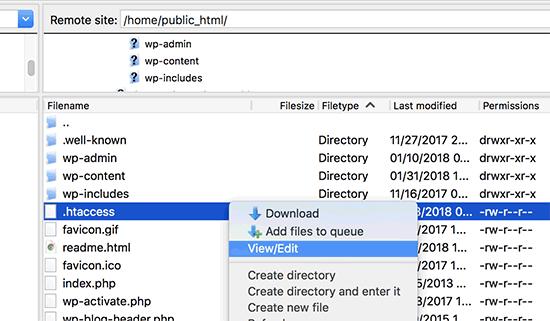 edit-htaccess-file