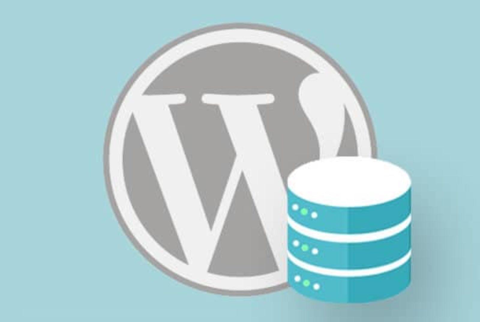 database wordpress backup