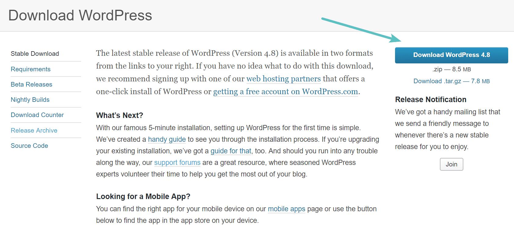 download-wordpress