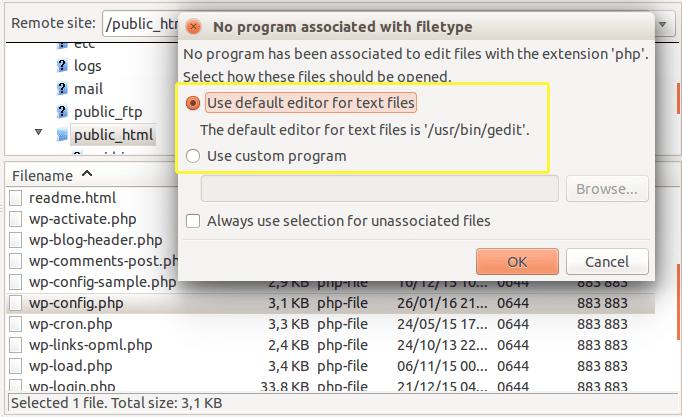 ftp-default-text-editor