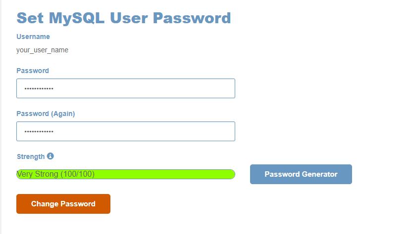 generate password