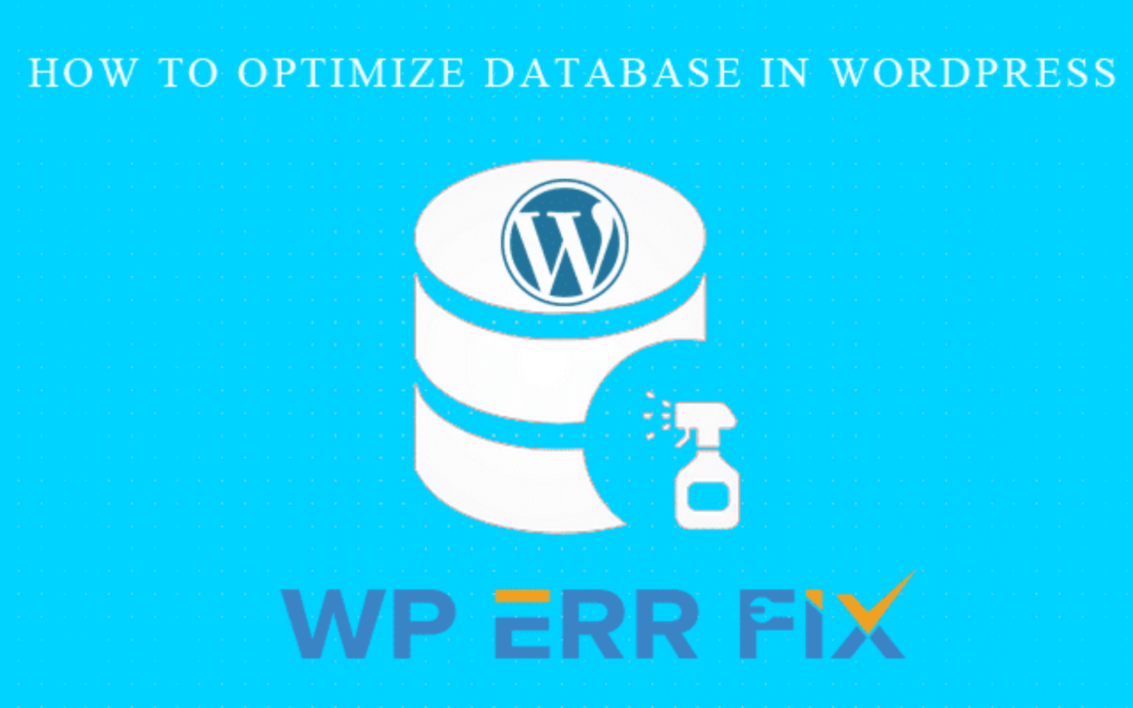 How to Optimize WordPress Database for Increase Page Speed
