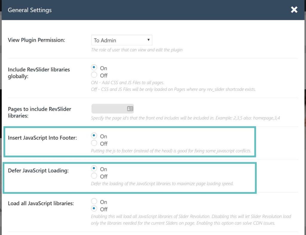 Optimize revolutions slider for speed optimization
