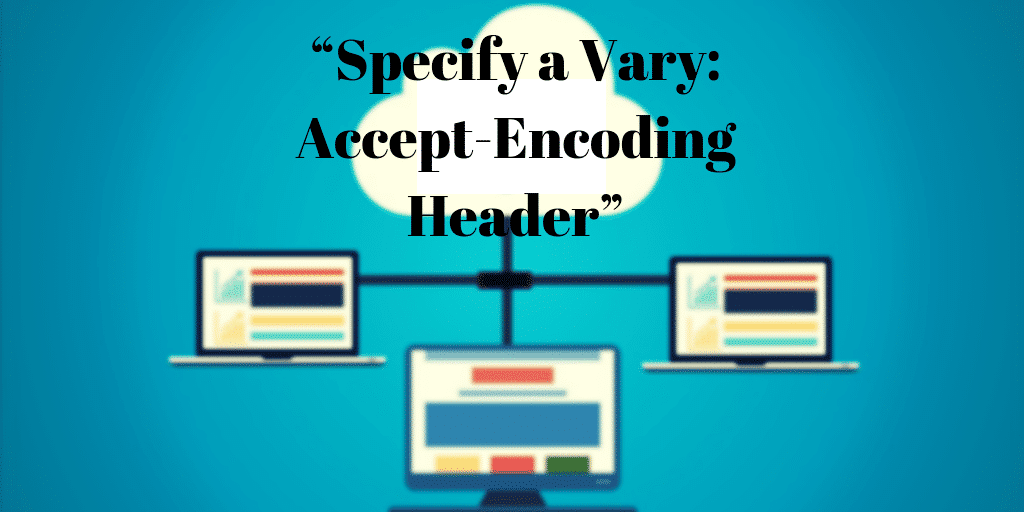 How To Fix Specify A Vary Accept Encoding Header Without