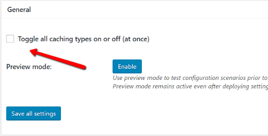 General How To Configure W3 Total Cache