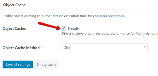 Object Cache How To Configure W3 Total Cache